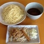 らーめん仙堂 - 料理写真:新発売!ピリ辛つけ麺(和辛子)