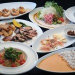 8spice - 料理写真:美味しいお料理とボリューム満点のパーティーコース