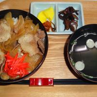 うなぎの三河 - 猪丼 800円