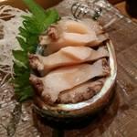 鮨処 竜敏 - アワビ