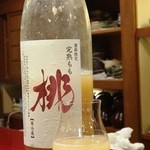 吉左エ門、 - その他写真:ネクターみたいに濃厚な桃のお酒