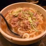 本場のさぬきうどん 徹麺 - 肉うどん800円