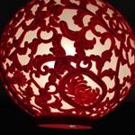 老麻火鍋房 - 個室の照明はお客様からの開店祝い