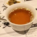 陳建一麻婆豆腐店 - セットのスープ