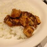 陳建一麻婆豆腐店 - 料理写真:麻婆をごはんに