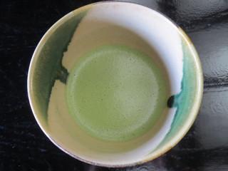 芦屋釜の里 - 抹茶 300円(季節の菓子付)