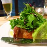 鎌倉製蕎麦 - 若鶏の岩塩焼き620円