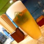 鎌倉製蕎麦 - ハートランド生ビール520円
