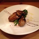 Ristorante SHIKAZAWA - 好物の花見牡蠣を今度はバルサミコ風味で
