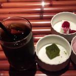 Foods bar 栞屋 - 女子的には嬉しいかも^^;