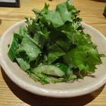 さかな 波波 - 無農薬サラダ