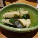 さかな 波波 - 若竹煮