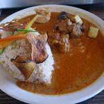634和浦バル - 玄米カレー