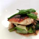 Delue - 料理写真:ハネのポワレ、バルサミコとケッパーのソース