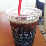バーガーキング - アイスコーヒー (2014/5)