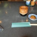 そば処 遊蕎 - テーブル上 H25.9