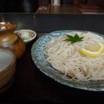 そば処 遊蕎 - れもん蕎麦 H25.9