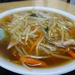 桂食堂 - もやしラーメン670円→600円(サービスデー?)