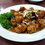 中華鄂菜 楚天 - 酢豚(800円)