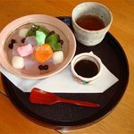 青山亭 - みつ豆