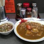 27340915 - カレー スープ付