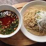 ラグタイム - 2014年4月訪問時:勝浦タンタンメン つけ麺(¥900)