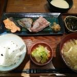 27341793 - ランチ 魚3種盛定食
