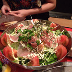 天龍 - 天龍サラダ 850円こだわっててたくさんの食材うまーい❤❤