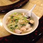 27343030 - 日替わりの海鮮麺650円