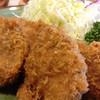 とん亭 - 料理写真:2014.05.16 ヒレカツ定食