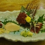27346468 - 「馬刺し5種盛り」(1790円)