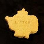 サー・トーマス・リプトン - ティーポットクッキー(レモンティ)