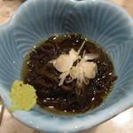 ダイニングキッチン Tommy - お通し・もずく酢@350円