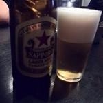 和レー屋 南船場ゴヤクラ - 初夏の陽気にはやっぱりビール♪