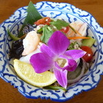 クローバー - ヤム・ウンセン (海老とイカの春雨サラダ)