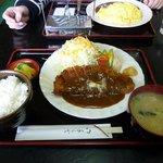北斗星 - ビーフカツ定食(1,300円)