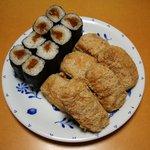 おつな寿司 - 稲荷寿司、のり巻き
