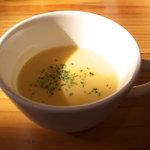 2735672 - ランチセットのスープ