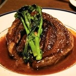 ビストロ ガール・ド・リヨン - 2014.4 梅山豚バラ肉の赤ワイン煮込み(1,780円)
