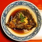 御料理 みつ乃家 - 煮物 鯛の荒煮