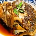 御料理 みつ乃家 - 刺身が食べられない娘に、鯛の荒煮