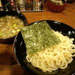 魚之助 - ど煮干つけ麺(2014,3)