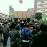 てっちゃん - 吉祥寺駅前で音楽祭が開催されてました。只でさえ混雑してる吉祥寺が更に凄い状況になってました。