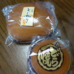 森上屋 - どら焼き170円大どら焼き450円