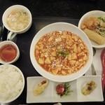 天天 - 麻婆豆腐ランチ