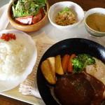 ウインピー - グリルハンバーグ定食