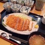 酒菜 ねむ太郎 - 【ランチ】豚ロースとんかつ