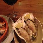 ターブル ド ペール - 焼き牡蠣