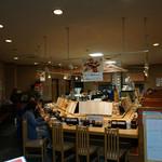 廻転寿司 海鮮 - 店内