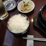 韓国野菜料理 JUN - ライスともやしナムル